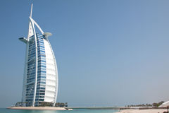 Al van Burj Arabisch Hotel Royalty-vrije Stock Foto's