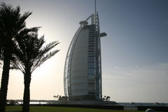 Al van Burj Arabisch hotel - Doubai Stock Afbeelding