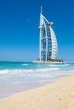Al van Burj Arabisch Hotel, Doubai stock afbeelding