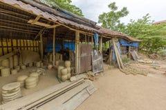 Al villaggio di Thanh Ha in Hoi An, il Vietnam Fotografia Stock Libera da Diritti