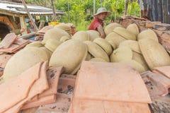 Al villaggio di Thanh Ha in Hoi An, il Vietnam fotografia stock
