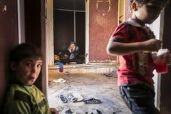 Al Zaatari refugee camp Royalty Free Stock Images