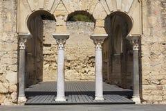 Al-Zahra de Madinat, complejo arqueológico medieval, Córdoba Imagenes de archivo