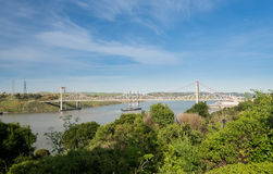 Al Zampa and Carquinez bridges carry US I80 across river Stock Images