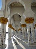 Al Zayed mosque - Abu Dhabi Stock Images
