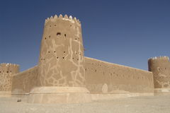 Al-Zubara Fort Stockfotografie