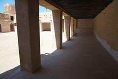 Al Zubarah van het fort stock afbeeldingen