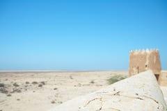 Al Zubarah van het fort royalty-vrije stock fotografie