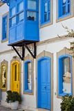 Alaçati Houses Royalty Free Stock Photography