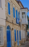 Alaçati Houses Royalty Free Stock Photo
