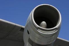 Ala 3 del motor de jet Imágenes de archivo libres de regalías