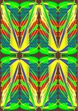 Ala abstracta de la mariposa. Libre Illustration