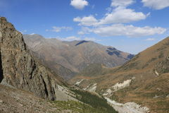 Ala-Archa gorge. Mountains of Ala-Archa gorge, Kyrgyzstan Royalty Free Stock Images
