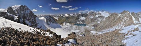 Ala Archa nel Kirghizistan Fotografia Stock Libera da Diritti