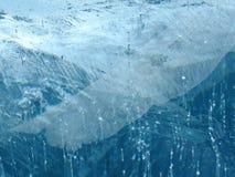 Ala congelada #4 antártica de la maravilla 2014 del hielo Imagenes de archivo