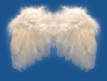 Ala de los ángeles Imágenes de archivo libres de regalías
