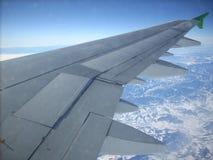 Ala de un aeroplano Imagen de archivo