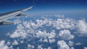 Ala de un avión Fotografía de archivo