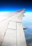 Ala del aeroplano Imagenes de archivo