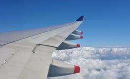 Ala del aeroplano Imagen de archivo