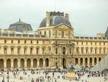 Ala del Louvre - París de Richelieu Foto de archivo libre de regalías