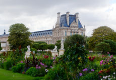 Ala del sud del Louvre immagini stock libere da diritti