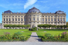 Ala del sur de la residencia de Wurzburg, Alemania Fotos de archivo