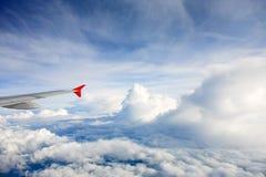 Ala dell'aeroplano Fotografia Stock Libera da Diritti