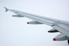 Ala dell'aeroplano Immagini Stock Libere da Diritti
