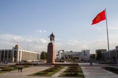 Ala-Demasiado Bishkek cuadrado fotografía de archivo