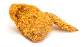 Ala di pollo fritto Immagine Stock Libera da Diritti