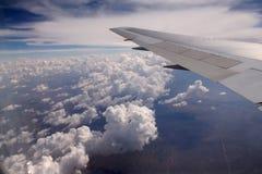 Ala di velivoli fotografia stock libera da diritti