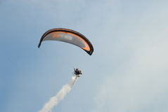 Ala flexible en el festival del globo del aire caliente de Bristol Fotos de archivo