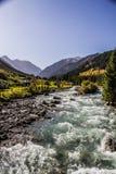 Ala Kol area- Kirgiz nature Royalty Free Stock Photography