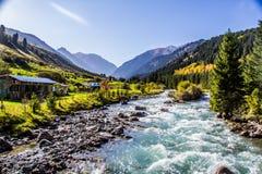 Ala Kol area- Kirgiz nature Stock Photo