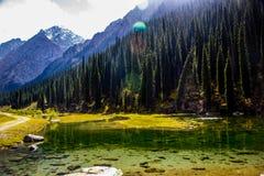 Ala Kol area- Kirgiz nature Stock Photos