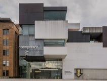 Ala moderna del museo del arte contemporáneo, Sydney Australia Foto de archivo libre de regalías
