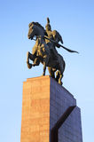 Ala-Too Square in Bishkek. Kyrgyzstan.  stock photography
