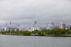 Ala Wai Community Park Stockfotografie