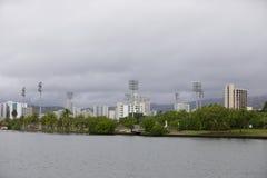 Ala Wai Community Park. Stock photo of the Ala Wai Community Park Honolulu Hawaii Stock Photography