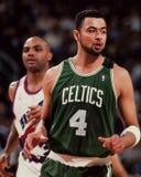 Alaa Abdelnaby, Celtics de Boston Foto de archivo