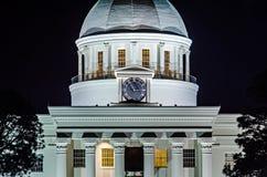Alabam Монтгомери городское на nighttime Стоковые Фотографии RF