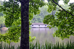 Alabama-überdachte Brücke Stockbilder