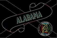 Alabama ślimacznica royalty ilustracja