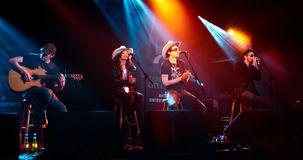 Alabama 3, English rock and country acid band Stock Image
