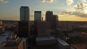 Alabama aérea Birmingham almacen de metraje de vídeo