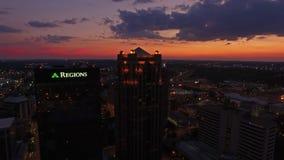 Alabama aérea Birmingham metrajes