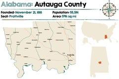 Alabama: Autauga okręg administracyjny Zdjęcia Stock
