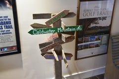Alabama-Besucher-Mittelausstellung lizenzfreies stockbild