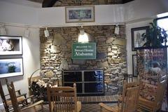 Alabama-Besucher zentrieren Innen lizenzfreie stockbilder